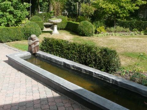 Karel sterckx een mechelse kunstenaar mechelen blogt for Waterpartij in de tuin