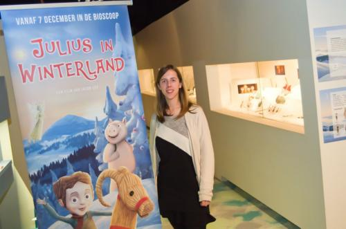"Animatiefilm ""Julius in Winterland"" Speelgoedmuseum"