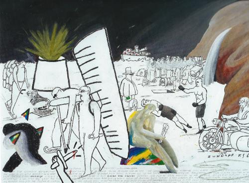 Gelukszoeker en kunstenaar op de barricades jan de winter for Schilder inhuren per uur
