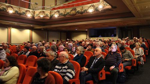 Senioren vrijwilligers in Stadsschouwburg te Mechelen