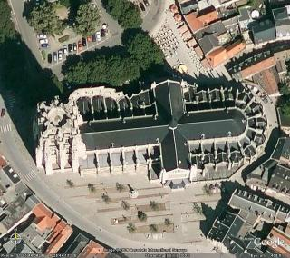 Sint-Rombouts by satellite