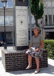 Baden Powell Gedenkbeeld 100 jaar Scouting te Mechelen
