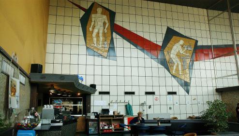 Wand Mechelen 1958