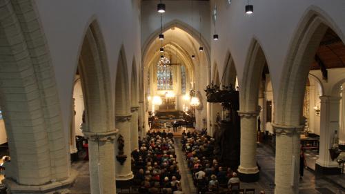 Sint-Katelijnekerk te Mechelen schittert weer na interieurrestauratie